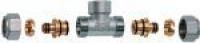 FAR Тройник для металлопластиковых труб ВР FAR FC 5461 12 58190