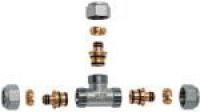FAR Тройник для металлопластиковых труб FAR FC 5411 12 80204