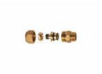 FAR Латунный переходник для металлопластиковой трубы НР FAR FC 5001 1 276275