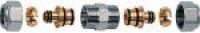 FAR Хромированный переходник для металлопластиковых труб FAR FC 5111 12 80204