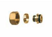 FAR Концовка для металлопластиковых труб с накидной гайкой для коллектора FAR FC 6056 220218
