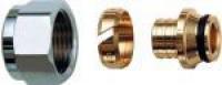 FAR Концовка для пластиковых труб с накидной гайкой (под евроконус) FAR FC 6075 825848