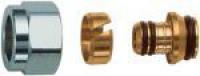 FAR Концовка для металлопластиковых труб с накидной гайкой (под евроконус) FAR FC 6076 58802